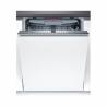 Vstavaná umývačka riadu Bosch SMV46FX01E je zaradená do energetickej triedy A +++, čím je zaručená nízka spotreba energie. Prevádzka je tichá s maximálnou hlučnosťou len 43 dB. K dispozícii je až 5 umývacích teplôt. Do umývačky riadu sa zmestí až 13 súprav riadu. Horný kôš je výškovo nastaviteľný, a tak sa Vám do umývačky zmestia aj objemnejšie kusy riadu.