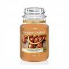 Sviečku Yankee Candle Golden Chestnut 623 g ponúkame v klasickom, ale zato najobľúbenejšom dizajne so skleneným vekom. Ide o vôňu: zlatý gaštan. Doba horenia: 110 - 150 hodín.