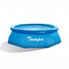 Tento nafukovací bazén Marimex Tampa 3,66 × 0,91 m má kruhový tvar. Hĺbka vody predstavuje 0,75 m. Objem je 6700 l. Farebné prevedenie: modré. Vyhotovenie je kvalitné a tak máte zaručenú dlhú životnosť. Bazén môžete pripojiť na pieskovú alebo kartušovú filtráciu Marimex.