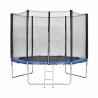 Trampolína s ochrannou sieťou a rebríkom. Skákacia plocha zo špeciálneho materiálu s vysokou odolnosťou voči UV žiareniu. Priemer trampolíny 305 cm a až 60 pružín. Pevná oceľová konštrukcia a bezpečnostná ochranná sieť. Nosnosť trampolíny je 120 kg.