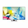 """Televízor s Ultra HD 4K rozlíšením Samsung QE55Q80TATXXH s uhlopriečkou 55"""" (139,7 cm). Direct LED podsvietenie, dynamický adaptívny obraz a antireflexný povrch displeja. 3D zvuk sledujúci pohyb OTS a automatické zosilňovanie hlasu AVA. Index spracovania obrazu až 3800 CMR a OS Tizen. Sledovanie obľúbených filmov a seriálov prostredníctvom aplikácií YouTube, NETFLIX, HBO GO, Voyo a ďalších. Výkonný Quantum Processor 4K a dokonalé podanie obrazu vďaka objemu farieb Quantum Dot."""