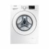 Práčka plnená spredu Samsung WW60J4060LW1 zabezpečuje prať bielizeň s kapacitou 6 kg.  Maximálna rýchlosť otáčok žmýkania 1000/min.  Je zaradená do energetickej triedy A - energetická norma 2021(nízka spotreba energie/vody). Energetická trieda: A+++. Vybrať si môžete z 12 pracích programov.