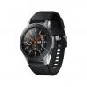 """Smart hodinky Samsung Galaxy Watch 46 mm sú kompatibilné s operačným systémom: Android, iOS. Určite uvítate smart funkcie: notifikácie z mobilu, prehrávač hudby, ovládanie mobilu, vibrácie, stav batérie, hľadanie mobilu. Zobrazenie času je kombinované. Uhlopriečka displeja predstavuje 1,3"""". Bežná výdrž batérie je 80 h. Aktivity: beh, triatlon, cyklistika, plávanie, fitness, lyžovanie, golf, veslovanie, jachting, chôdza, jóga, lezenie, potápanie, turistika."""