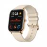Tieto smart hodinky Xiaomi Amazfit GTS Gold sú komapatibilné s operačným systémom: Android 5.0 , Android 6.0 , Android 7.0 , Android 8.0 , Android 9.0 , iOS 10 , iOS 11. Ponúkame ich v zlatom prevedení. Remienok je silikónový. Funkcie: notifikácie z mobilu, vibrácie, stav batérie, hľadanie mobilu, meranie tepu, monitoring spánku, krokomer, výpočet kalórií, intervalový tréning, meranie vzdialenosti, meranie tempa, stopky, budík. Zoznam aktivít: beh, triatlon, cyklistika, plávanie, fitness, lyžovanie, chôdza, outdoor. Výhodou je, že hodinky sú vodotesné do hĺbky 50 m. Výdrž batérie: 336 h.