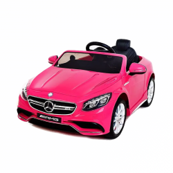 Detské vozidlo Mercedes-Benz S63 AMG - ružové