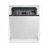 Vstavaná umývačka riadu Beko DIN 28430 disponuje úspornou energetickou triedou D (energetická norma 2021), vďaka ktorej je spotreba energie nízka. Energetická trieda: A +++. Do umývačky sa zmestí až 14 súprav riadu. Maximálna hlučnosť je len 44 dB. Ochrana proti pretečeniu. Súčasťou vybavenia je zásuvka na príbory.
