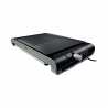Kompaktný stolový gril Philips HD4419/20 disponuje platňou s vysokou teplotou. Disponuje aj hladkou aj rebrovou plochou, na ktorých si môžete pripraviť množstvo chutných jedál. Veľkosť grilovacej plochy je 30 x 37 cm. Súčasťou je nastaviteľný termostat.