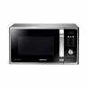 Mikrovlnná rúra Samsung MS23F301TASs digitálnym displejom. Mikrovlnný výkon 800W a 6 voliteľných stupňov výkonu. Funkcia Healthy Cooking (zdravé varenie) – smart programy podľa druhu potravín. Vysoko odolný povrch s keramickým smaltom. Moderný čierny dizajn v kombinácii s leštenou nerezovou oceľou.