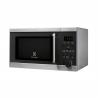 Mikrovlnná rúra Electrolux EMS 20300 OX s digitálnym displejom. Mikrovlnný výkon 800 W (gril 1000 W) a voliteľných 5 stupňov výkonu. Automatické programy s meraním hmotnosti a detská poistka. Elegantný dizajn zo skla a nerezu.
