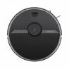 Robotický vysávač Xiaomi Roborock S6 Pure v čiernej farbe. Multifunkčný vysávač s funkciou utierania (integrovaný mop). Aktívne senzory pre rozoznávanie prekážok (časti nábytku, schody,..) Laserová navigácia LIDAR umožňuje dokonalú orientáciu v priestore a mapovanie. Sací tlak 2000 Pa so zanedbateľnou hlučnosťou (50-65 dB). Veľká zberná nádoba na prach (460 ml) a vodu (180 ml).