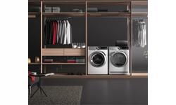 práčka - sušička - set práčky a sušičky - biela technika